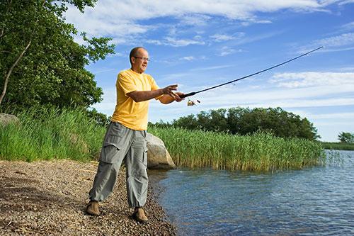Fiska i sköna Bollnäs